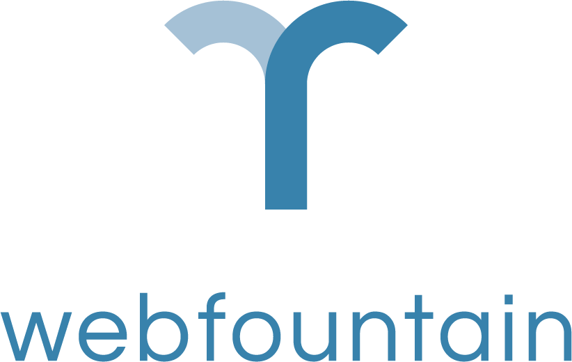 web fountain logo